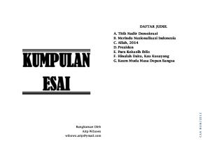 Kumpulan Esai Pdf Free Download