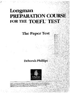 Longman Preparation Course For The Toefl Test Pdf Free Download