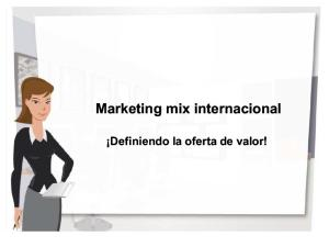 Marketing Mix Internacional