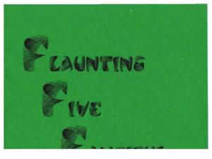 Max Maven - Flaunting Five Fanciful Formulae