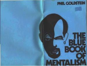 Max Maven - The Blue, Red, And Green Books of Mentalism
