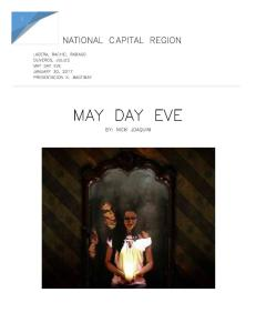 May Day Eve Analysis