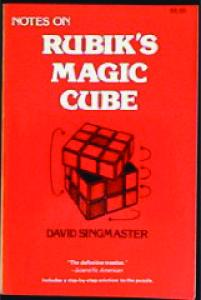 Notes on Rubik s Magic Cube