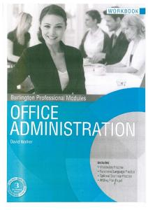 Office Administration (Workbook)