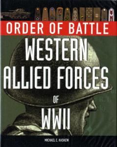 Order of Battle Western Allied Forces