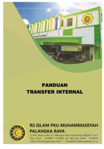 Panduan Transfer Internal