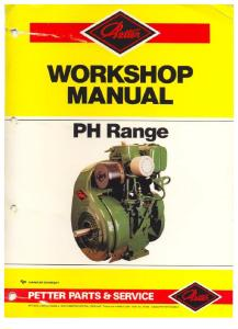 Petter Ph1- 2 and Phw1-2 Workshop Manual