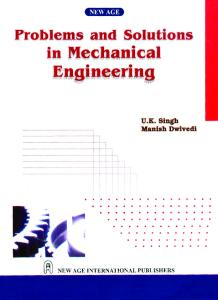 Problem Solution To Mechanical Engineering