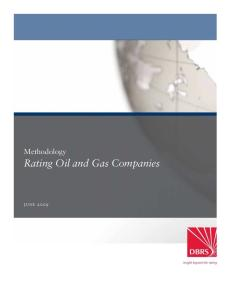 Rating Oil & Gas Companies