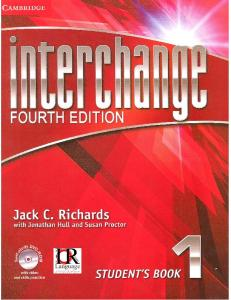 Richards J.C. - Interchange 1 (4th Edition). Student's Book