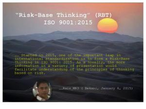 Risk-Base Thinking ISO 2001- 2015.pdf