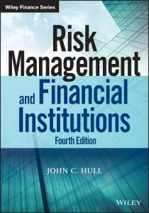 Risk management and financial institutions 4th edition - PDF