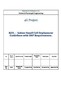 RJIL – Indoor Deployment Guidelines