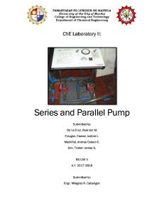 Series and Parallel Pump