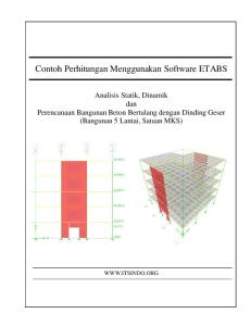 Shear Wall Design With ETABS