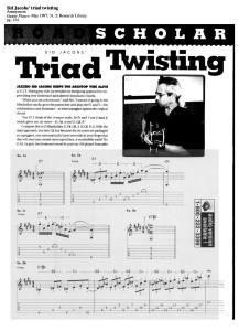 Sid Jacobs - Triad Twisting