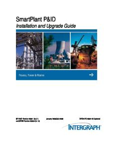 SmartPlant P&ID Installation and Upgrade Guide