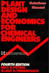 solution manual plant design and economics for chemical engineers rh edoc site solution manual for plant design and economics for chemical engineers 5th plant design and economics for chemical engineers solution manual pdf