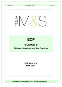 SOPs for Textile Mfg by M&S