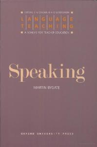 Speaking by Martin Bygate