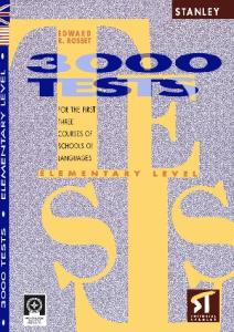 Stanley.3000.Tests.elementary.level.for.the.three.courses.of.Schools