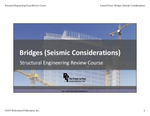 STRC15 Lateral Forces Bridges Seismic Considerations 0715