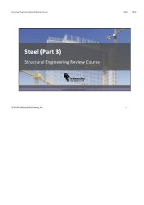 STRC23 Lateral Forces Steel Seismic 0716