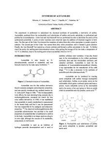 synthesis of acetanilide.docx