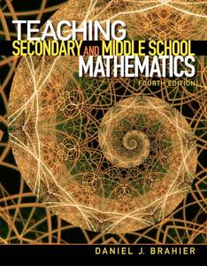 Teaching Secondary and Middle School Mathematics