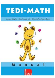 TEDI-MATH Extracto Web
