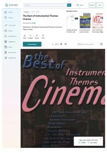 The Best of Instrumental Themes Cinema