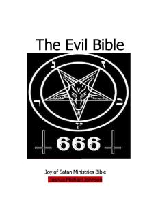 The Evil Bible