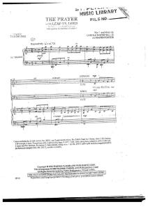 The Prayer With Lead Us Lord (SATB)