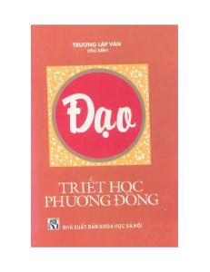 Triet Hoc Phuong Dong - Dao