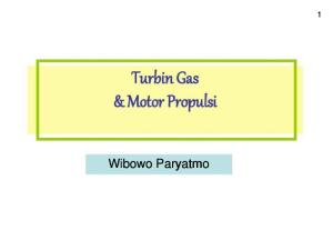 Turbin Gas I