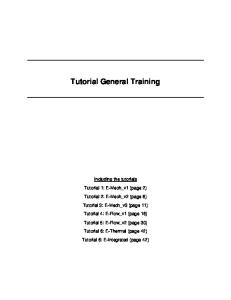 Tutorial GT SUITE Introduction Training