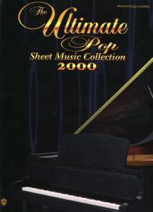 Various Artists - The Ultimate Pop Sheet Music Collection 2000