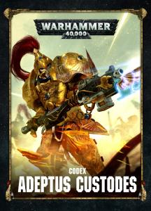 Warhammer 40k - Codex - Adeptus Custodes - 8th