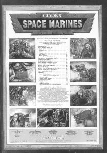 Warhammer 40K - Codex Space Marines