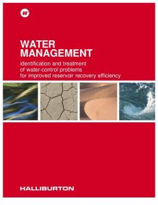 Water Management Manual