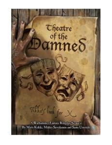 WFRP Theatre of the Damned